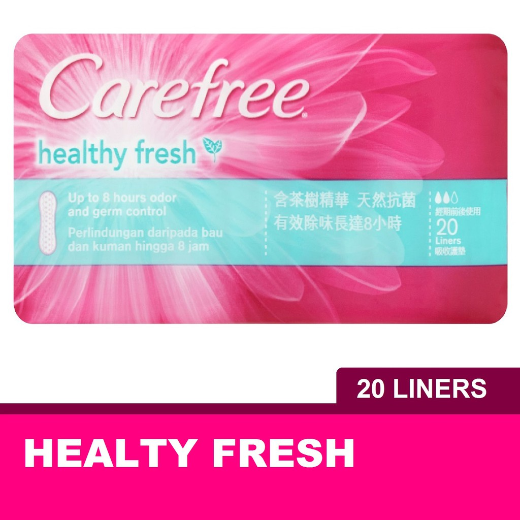 Carefree Healthy Fresh Panty Liner (20's)