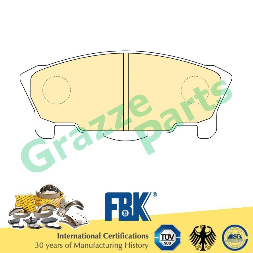FBK Disc Brake Pad Front for FD0026S Perodua Kancil Turbo Daihatsu Mira L5 Turbo