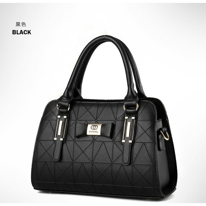 Harga Tas Fashion High Quality Korean Style 4in1 Hitam Terbaru. Source · Buy .