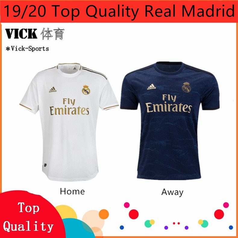 the latest 91bbe 3ce57 2019/2020 Top Quality Real Madrid Home and Away 3rd jersey Training shirt  Newest Season(Ready Stock)