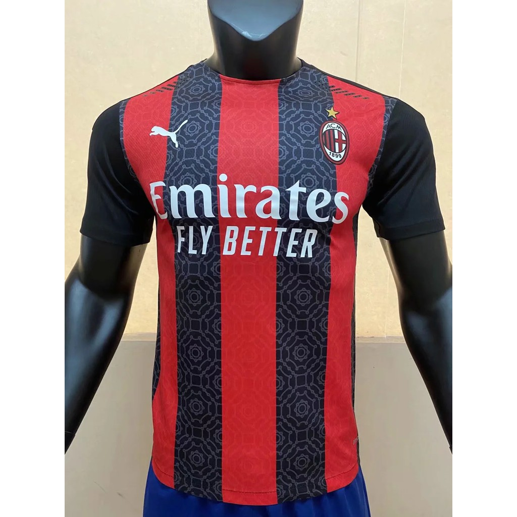 20/21 Player Issue Football Jersey Ac Milan 2020 21 ...
