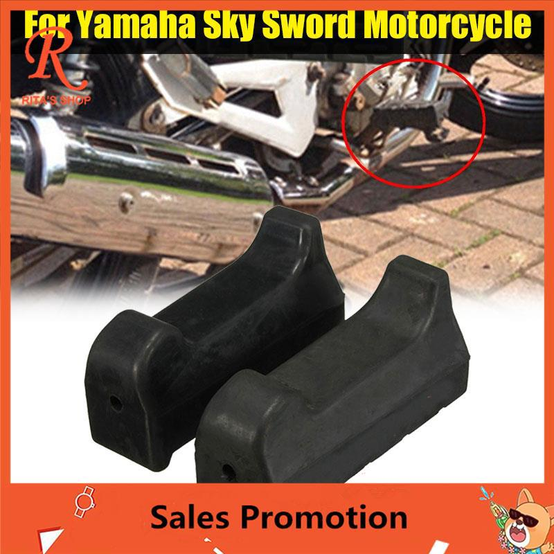BES Yamaha YBR 125 All Years Rubber Foot Kickstand Side Stand Foot
