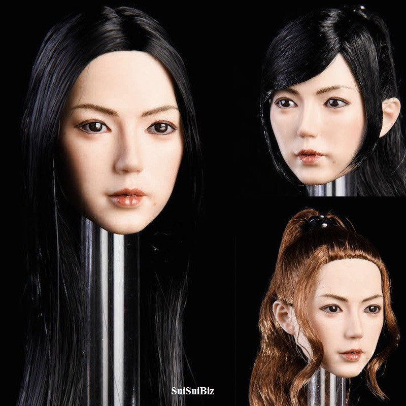 1//6 Scale Toy Female Special Forces Female Head Sculpt