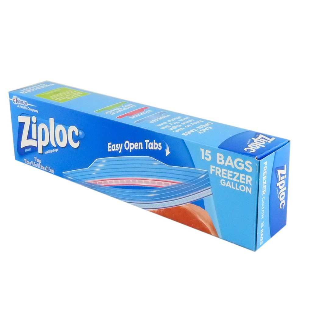 Ziploc Freezer Gallon (15's) 695097