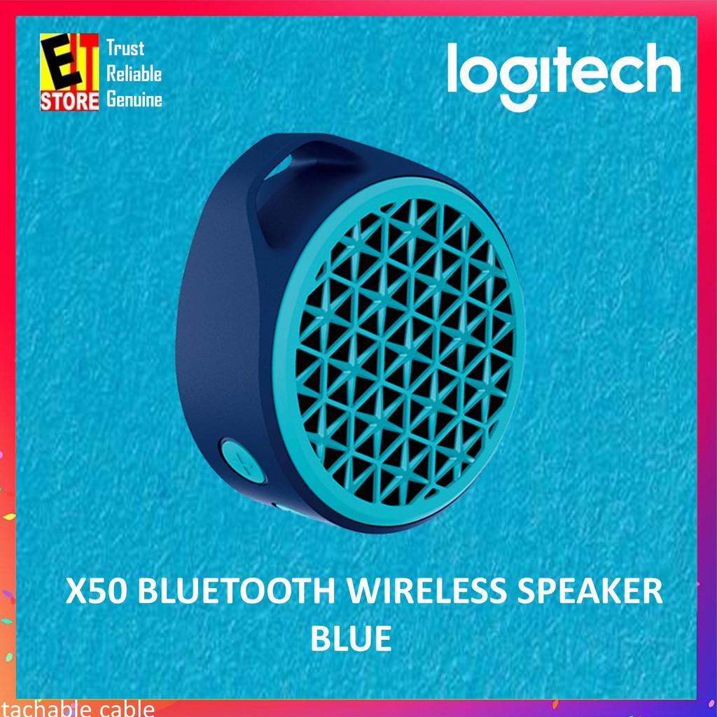 006b701303b Logitech X50 Bluetooth Mobile Wireless Speaker (Blue) | Shopee Malaysia
