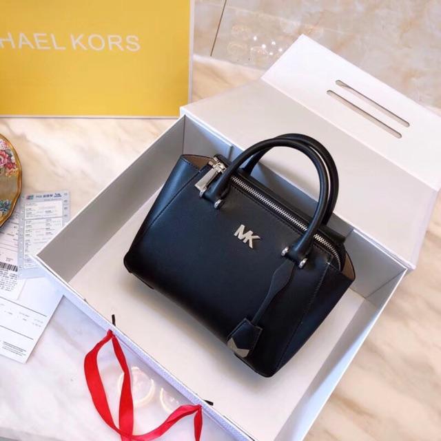 f7763af188e98 🔥🔥🔥 Michael Kors MK 100% Original Leather Handbag Reagan Satchel Tote  Bag