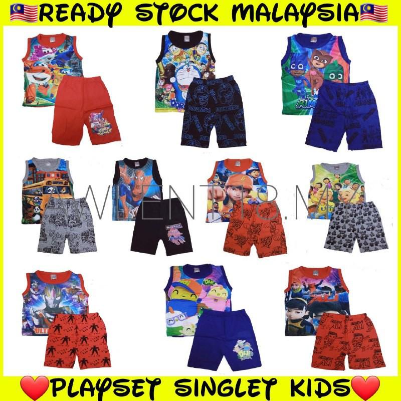 playset singlet for kids 🔥 baju playset kanak 🔥 baju