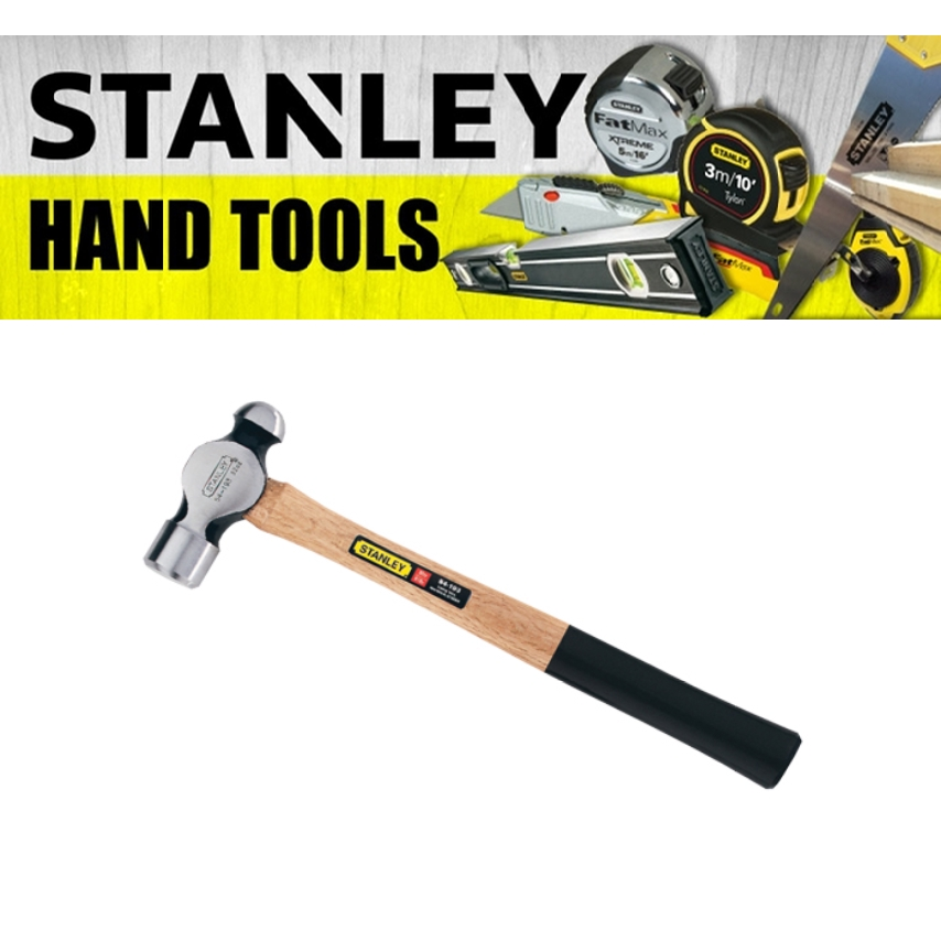 STANLEY BALL PEIN HAMMER 54-192 54-193 WOOD HANDLE 680G 910G TRIKING STRUCK TOOL