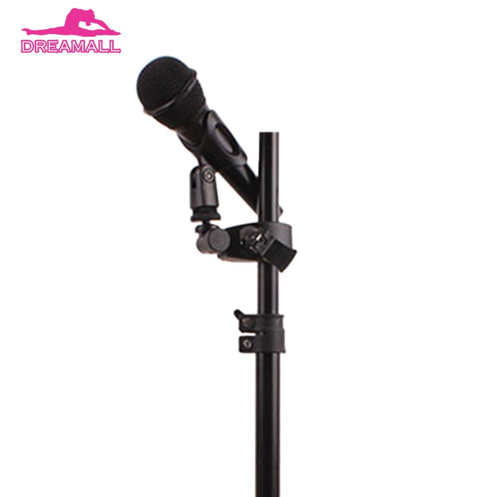 Flexible Microphone Clip Holder Mount Mic Stand Clamp Accessory Plastic CHORD x5
