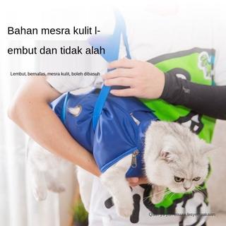 Kucing Dengan Baoding Beg Kucing Tetap Beg Mandi Alat Hebat Suntikan Anti Menggigit Kucing Mengikat Mencuci Kucing Beg Binatang Pelihara Barangan Kegunaan Shopee Malaysia