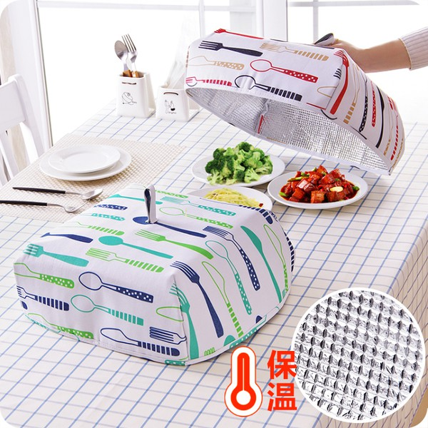 Cover food with aluminium foil insulation cover hot food table cover