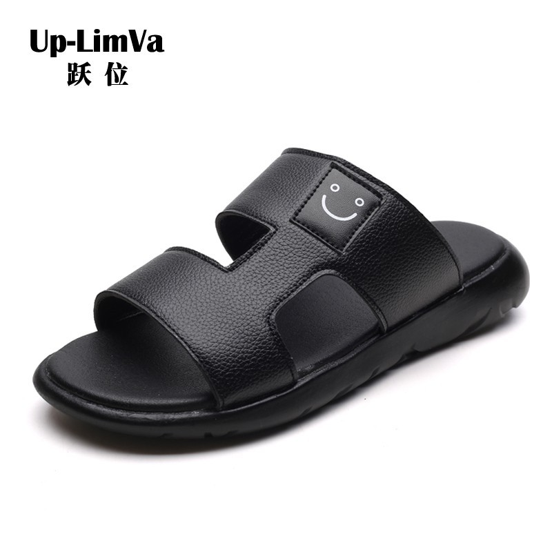 f9c8007ad Men s Shoes Men Flat Bath Slipper Summer Sandals Indoor   Outdoor Home  Beach Slipper