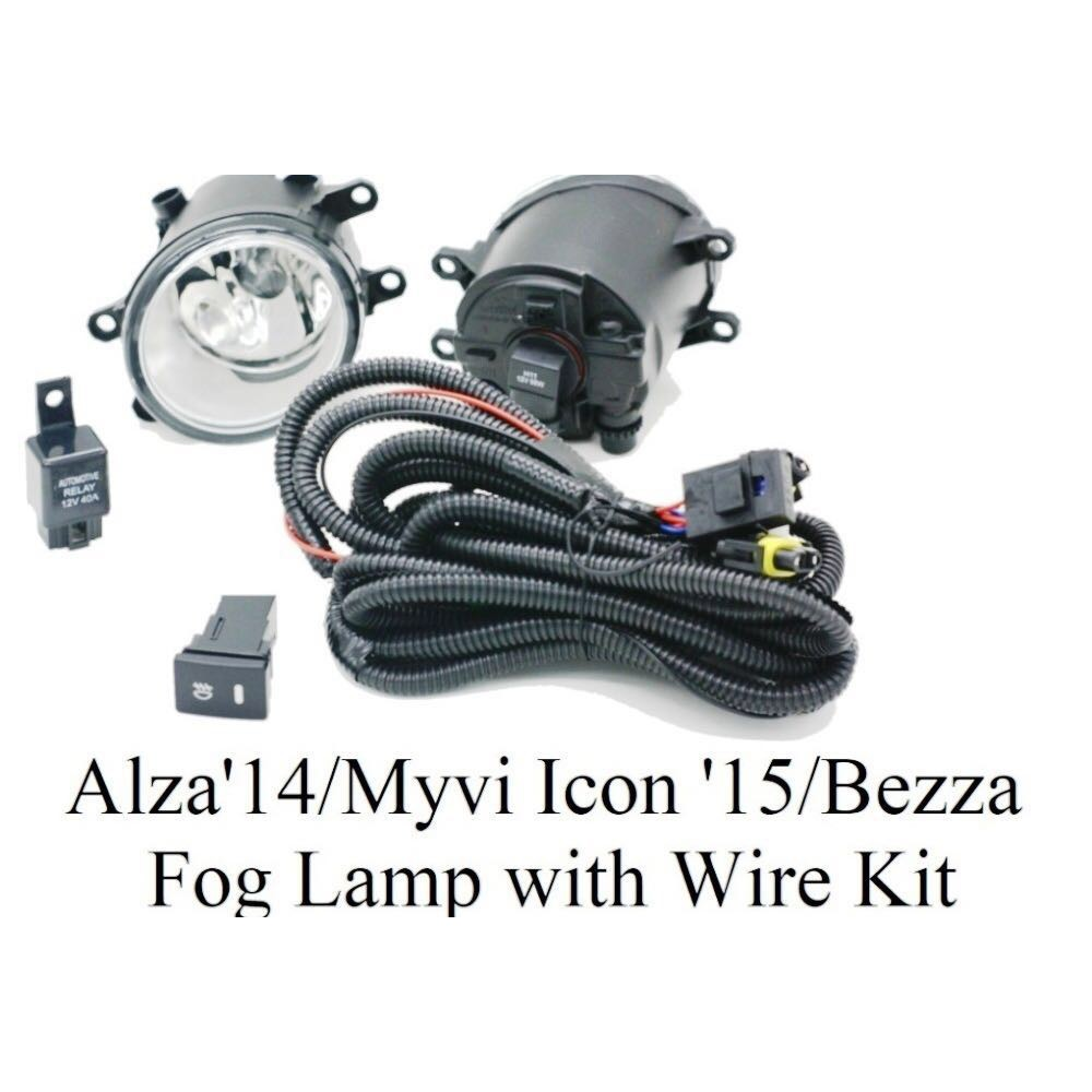 Fog Lamp Oem Kaca Proton Persona Gen2 Saga Blm Fl Flx 1pc Plug N Wiring Exora Play Shopee Malaysia