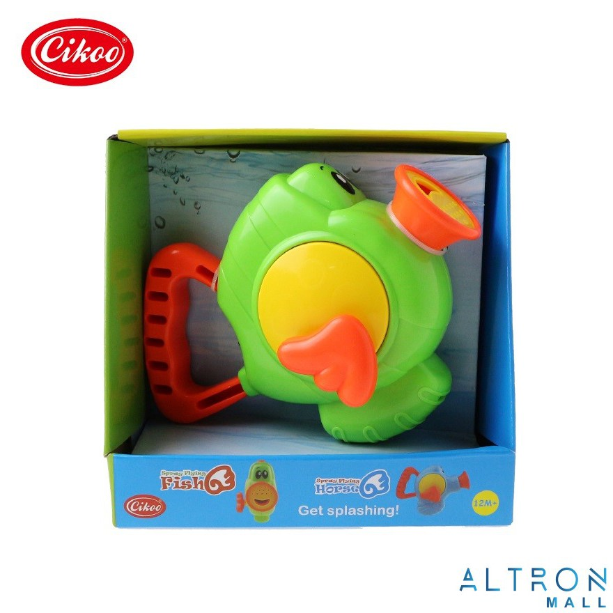 Cikoo Spray Flying Fish Horse Swimming Bath Toy Early Education For kids