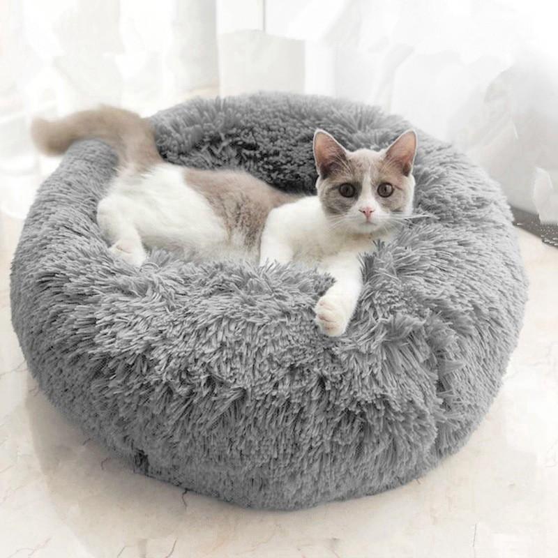 High Quality Donut Comfy Pet Bed Sofa Soft & Fluffy  - Tilam/Bantal Lembut Kucing & Anjing