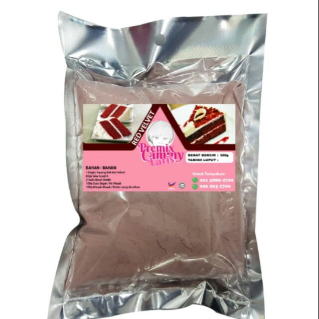 Red Velvet Premix Cammy 500g