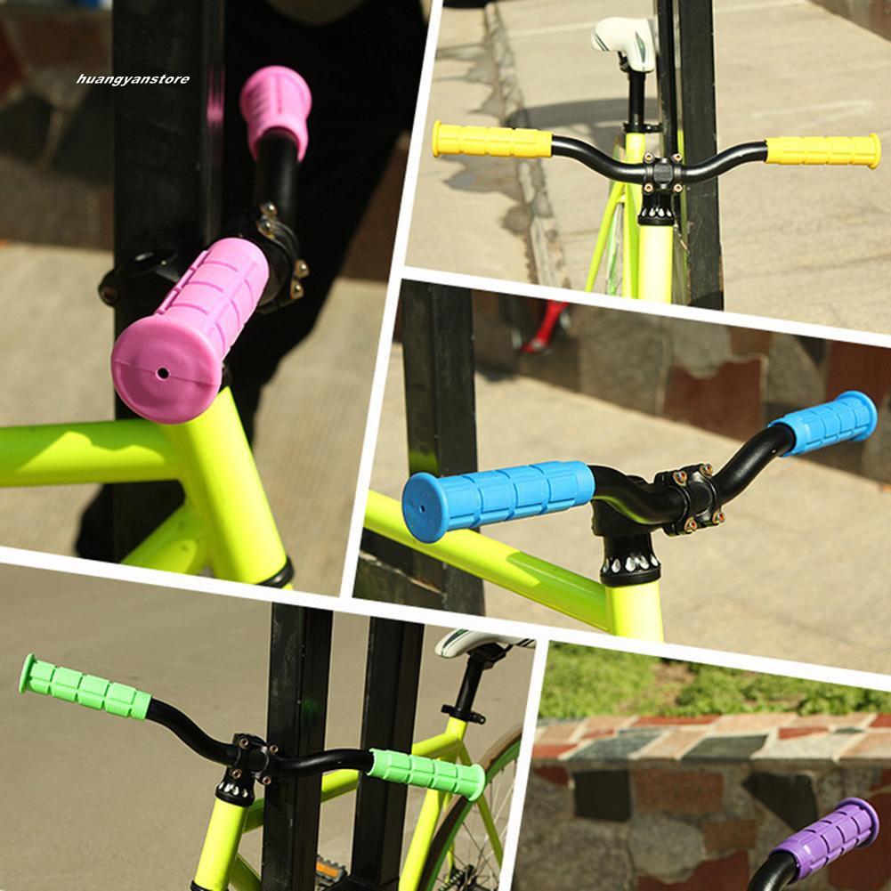 1pair soft foam sponge bike cycle bicycle handle handlebar bar grips In VvV