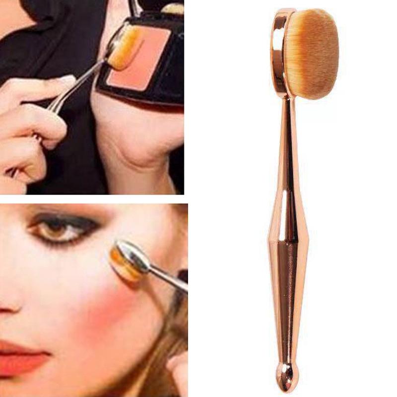 7c60dd49cc20 HB:1pc Makeup Brush Mermaid Oval Foundation Brushes Set