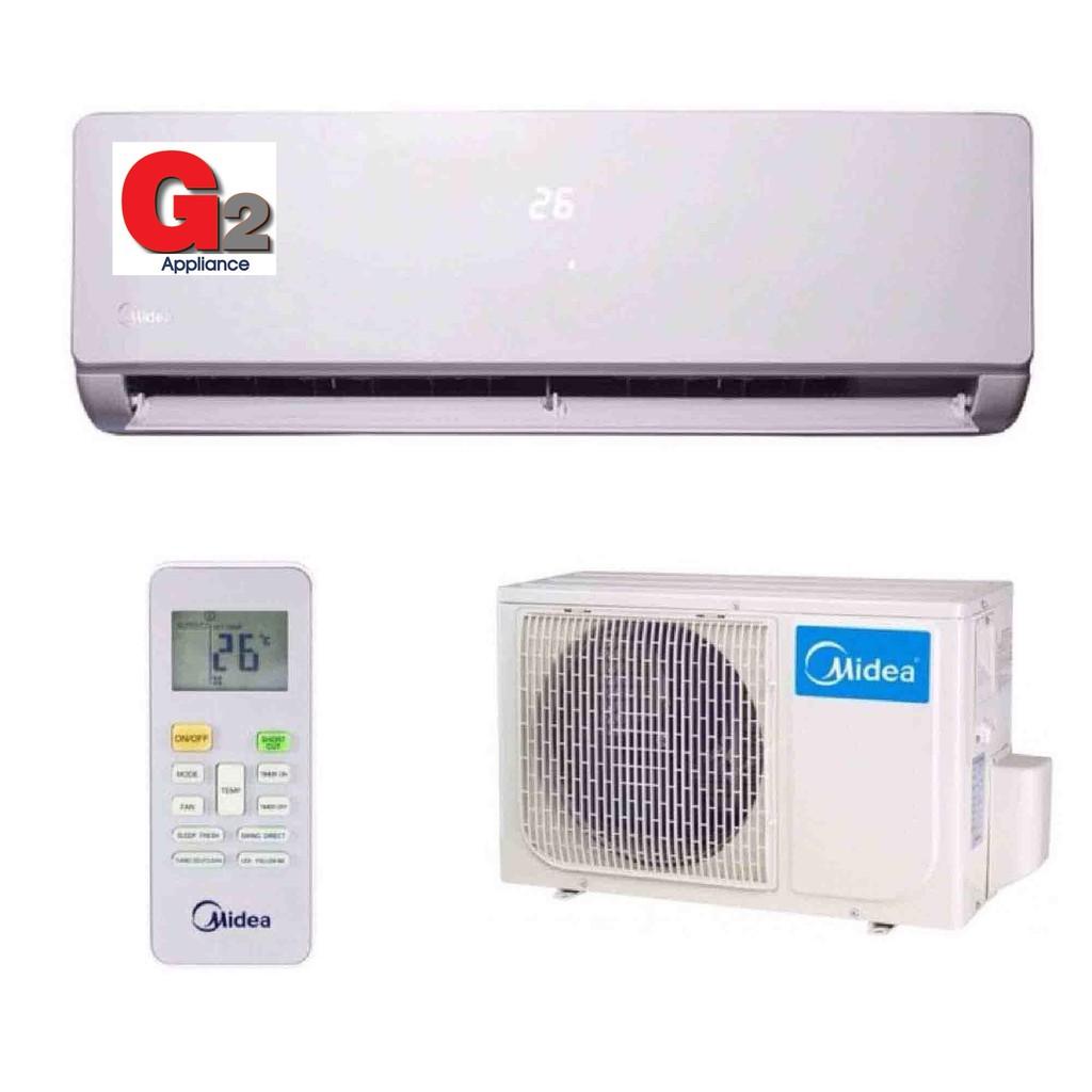 MIDEA 1.5HP IONIZER (R410A) AIR CONDITIONER : MSK4-12CRN1