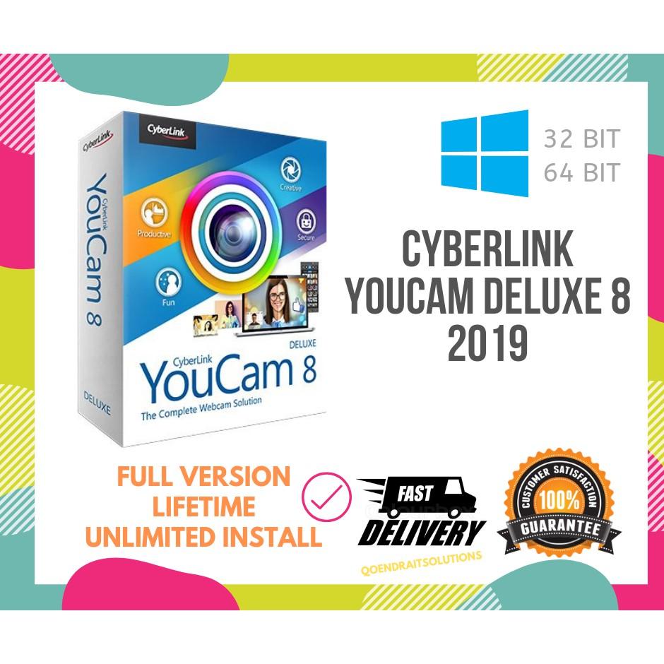 🔥HOT🔥 Cyberlink YouCam Deluxe 8 2019 Full Version