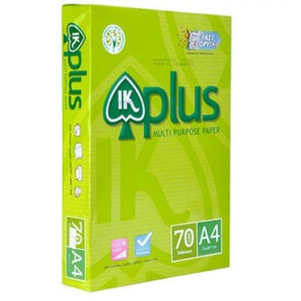 A4 Paper 70gsm IK PLUS Multifunction Business Paper 500s