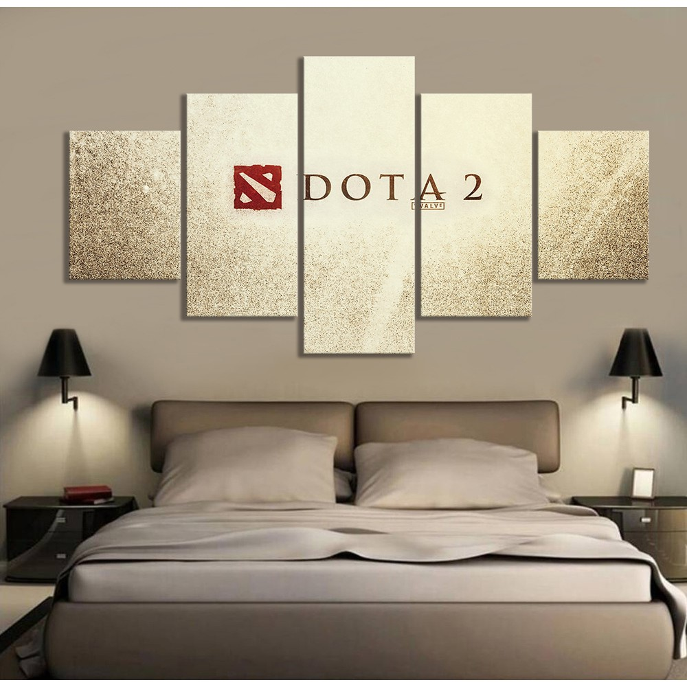 Dota 2 Logo Picture Oil Painting On