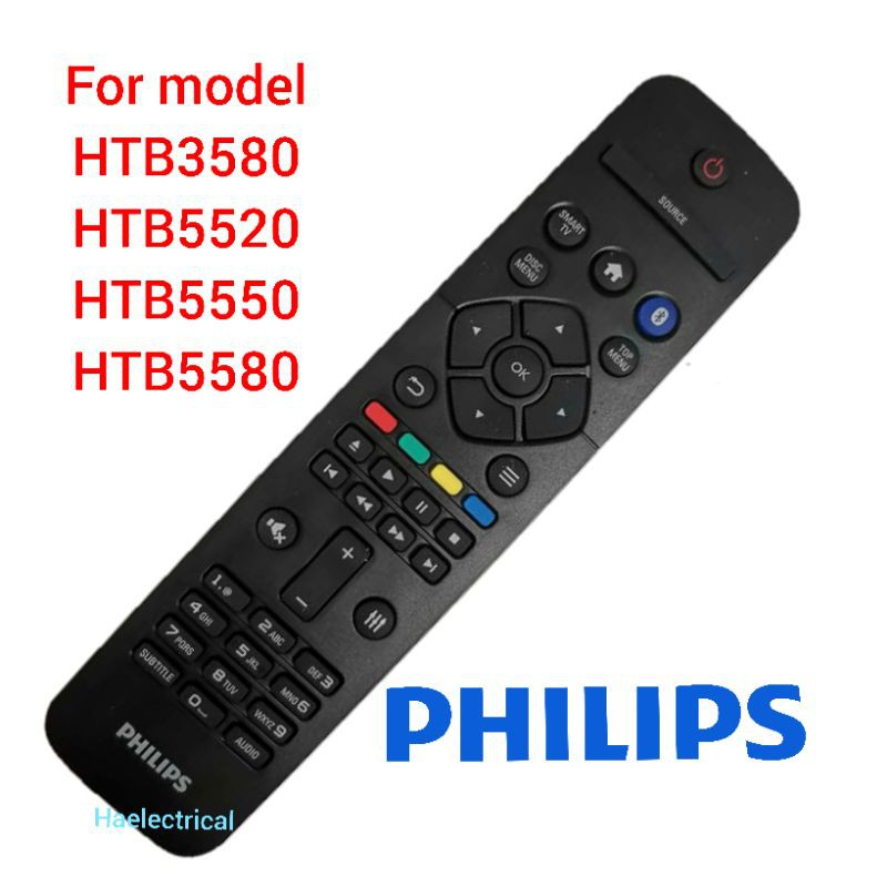 philips home theater REMOTE CONTROL HTB5550 5520 5580 3580