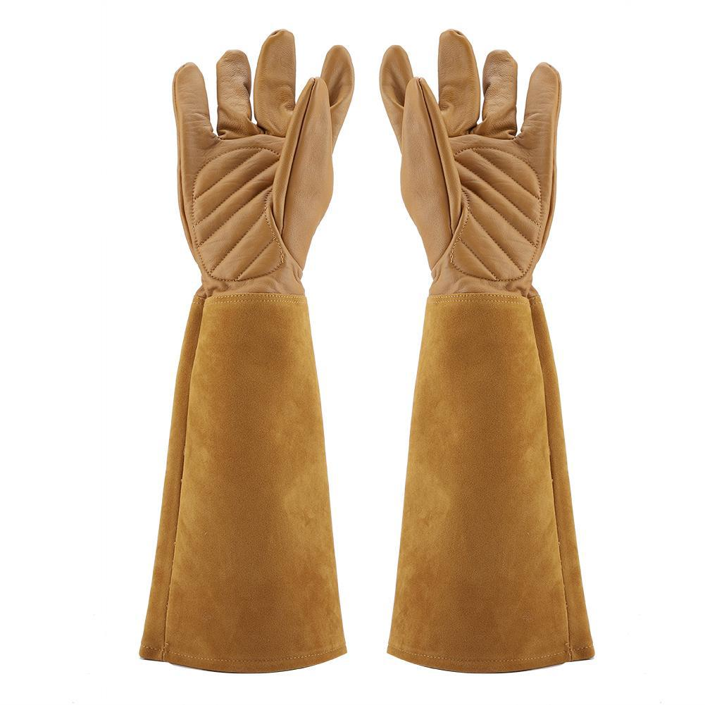 Garden Gloves Back To Search Resultstools 1 Pair Anti Stab Printed Long Sleeve Security Working Pruning Trimming Wrist Protection Gardening Labor Thicken Gloves Planting