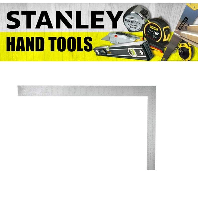 STANLEY STEEL RAFTER ROOFING SQUARE 45-530 METRIC BUFFED MEASURE TAPE  (3 MONTH WARRANTY)