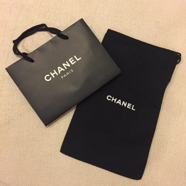 1e26983aaae7 AUTHENTIC CHANEL Paperbag / Paper Bag 🛍 & Dustbag | Shopee Malaysia
