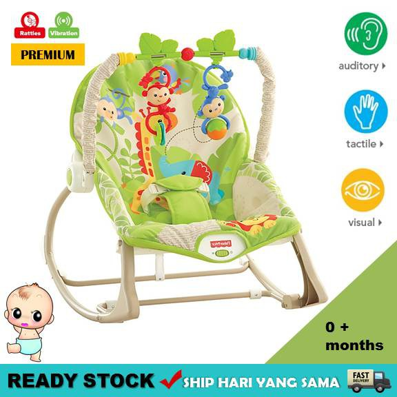 fffc941e4 FISHER PRICE COMFORT BABY CURVE BOUNCER