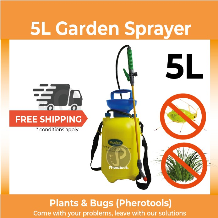 5L Garden Pressure Sprayer (Manual Pump)