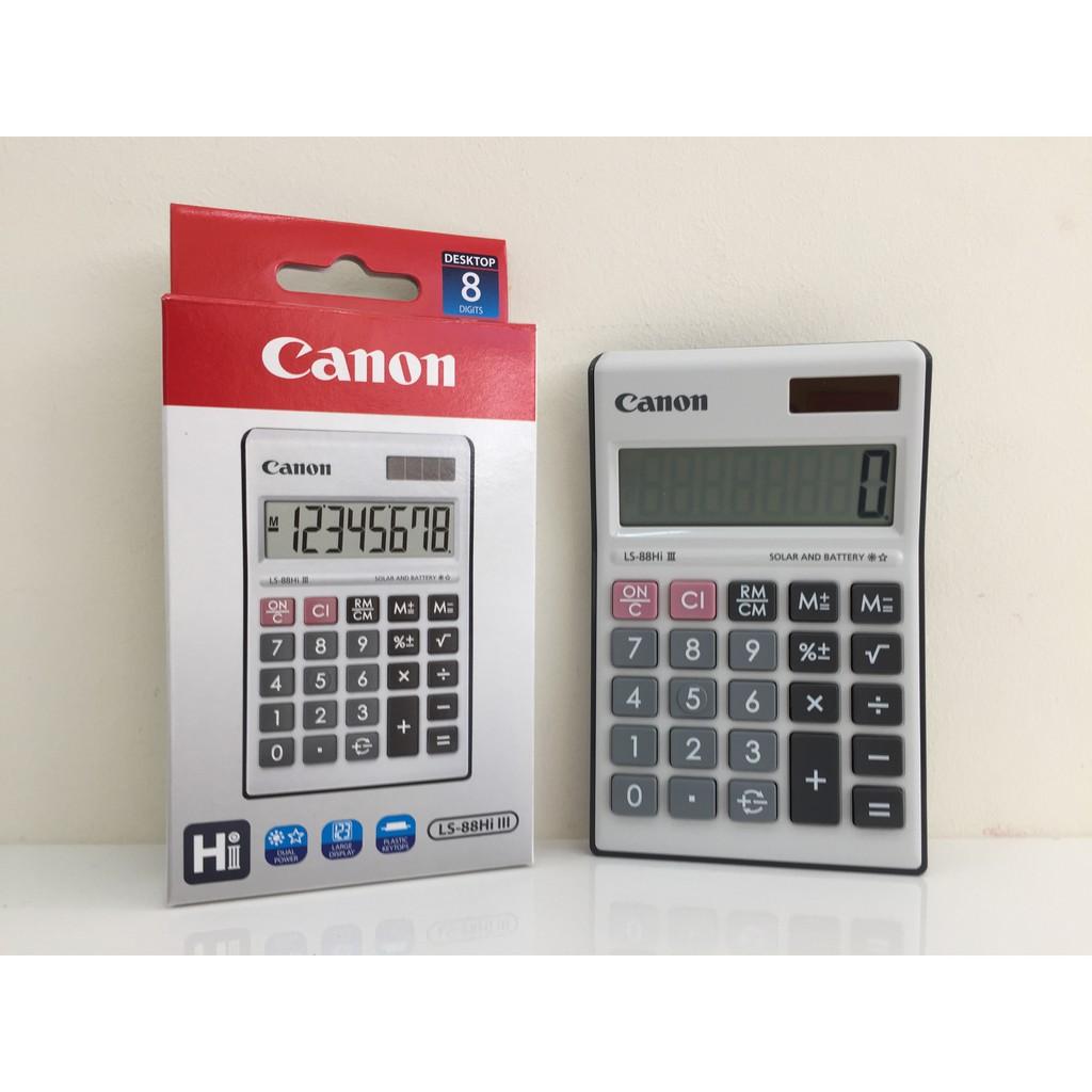 Canon Ls 88hi Iii Green Desktop 8 Digits Calculator Shopee Malaysia Casio Colorful Ms 20uc Black