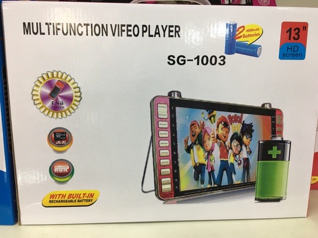 EL-777 5inch MP4 Learning Kids siap with 16gb video player cheapest price