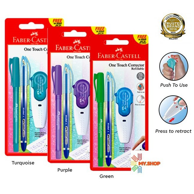Faber-Castell One Touch Corrector Refillable 169217