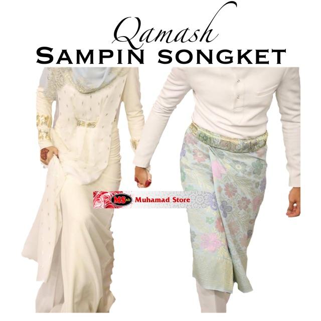 Qamash Sampin Songket