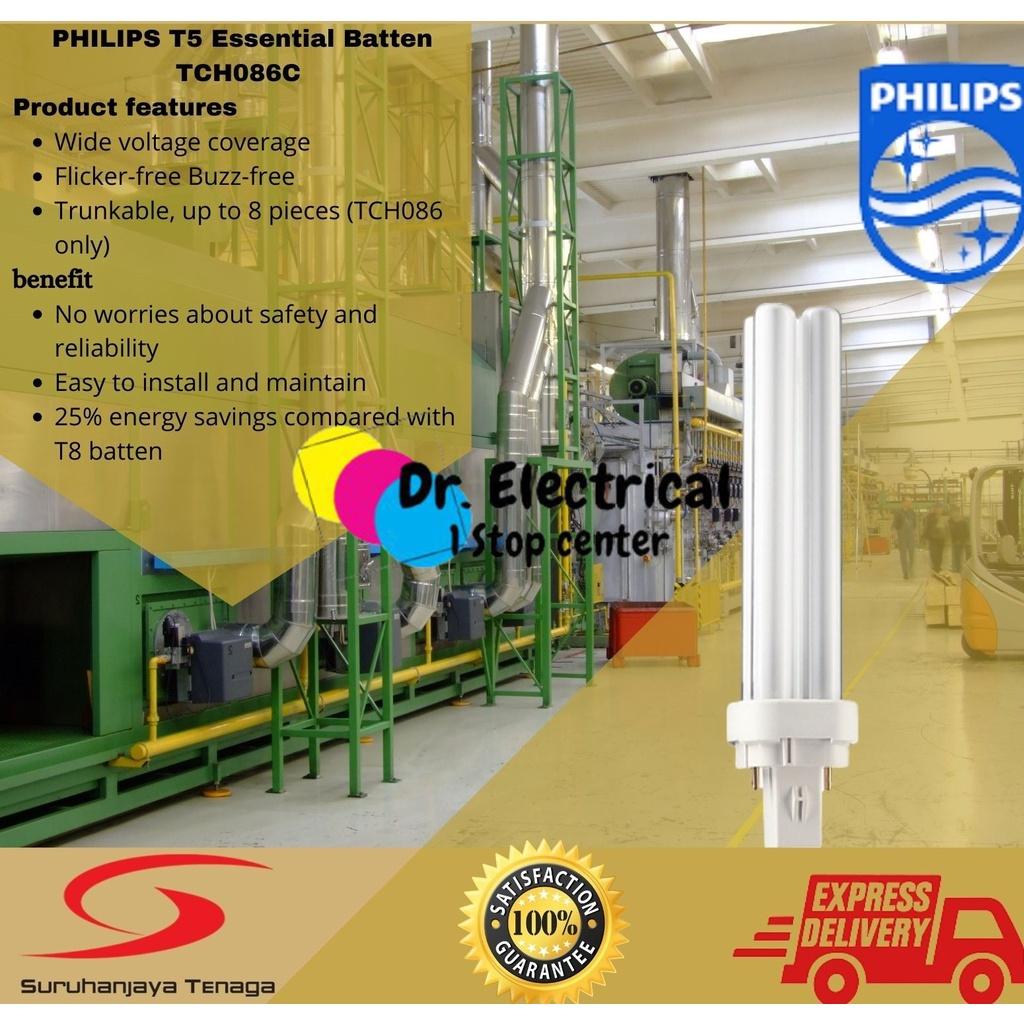GENUINE PHILIPS Philips Master PL-C 10W,13W,18W,26W,36W 2P C 827/840/865- Energy Saving Down Light Bulb PLC