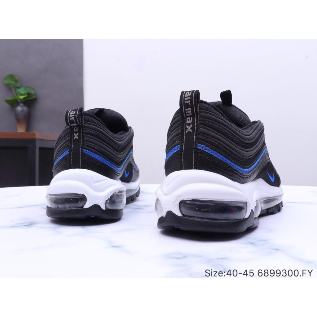 Nike Air Max 97 nike Max97 Bullet Series Stitching Reflective Mesh Full Palm Air