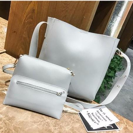 Sling Bag Shoulder Bag Women HanBag ( Set Bags 3 in 1) #Beg Wanita