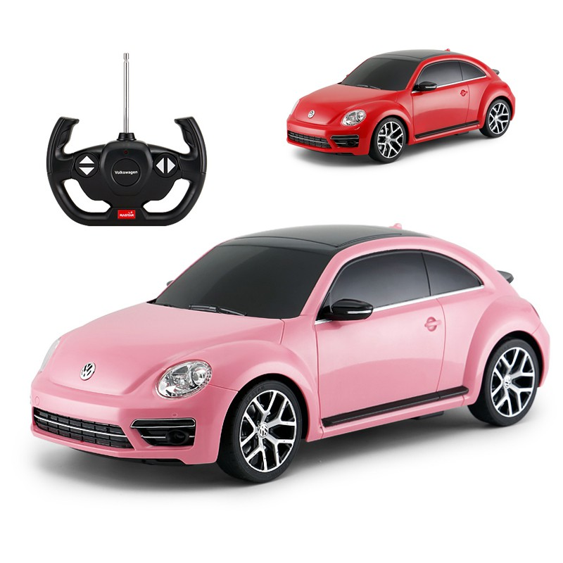 Rc Car 1 14 Beetle Remote Control Toys Radio Control Vehicle Boys Gifts For Girls Children Shopee Malaysia