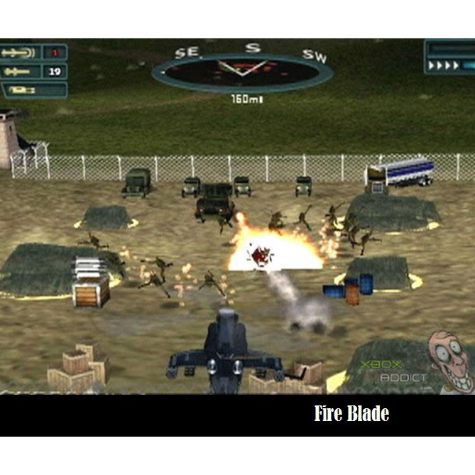 PS2 Game Thunder Strike Operation Phoenix, Fire Blade Helicopter Combat Game, English version / PlayStation 2