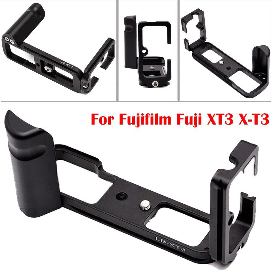for Fuji X-T30 Split Vertical Plate XT20 Micro Single Mirrorless Camera Handle L-Type Quick Release Plate Compatible with Head
