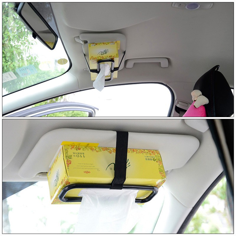 Tissue Paper Box Holder - Can fix the tissue box to the place easily Accessible