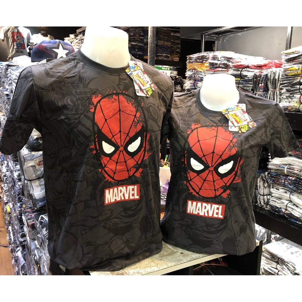 เสื้อยืด Spiderman สไปเดอร์แมน ลิขสิทธิ์แท้ (ลายใหม่ล่