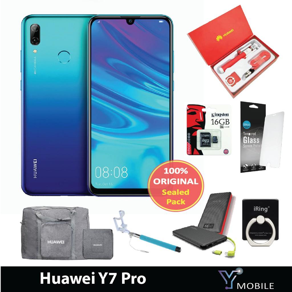 HUAWEI Y7 PRO [3GB RAM+32GB ROM] - Original Malaysia Set