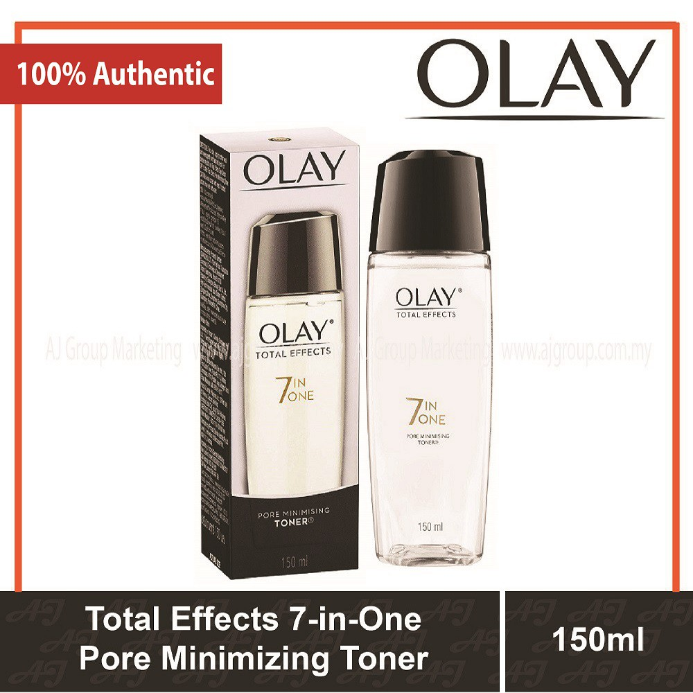 Olay Total Effects 7 In One Pore Minimizing Toner 150ml Shopee