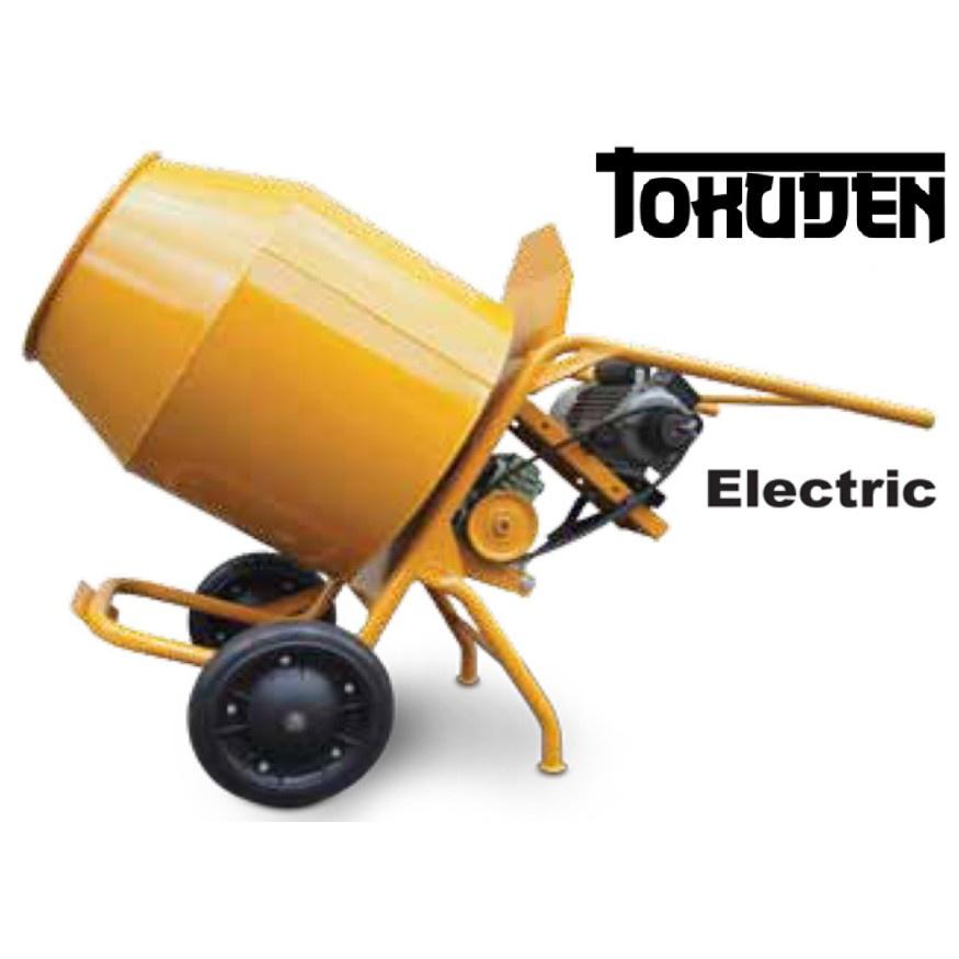 TOKUDEN Electric CONCRETE MIXER TKCM-3T with Motor Engine Machine Cement Simen