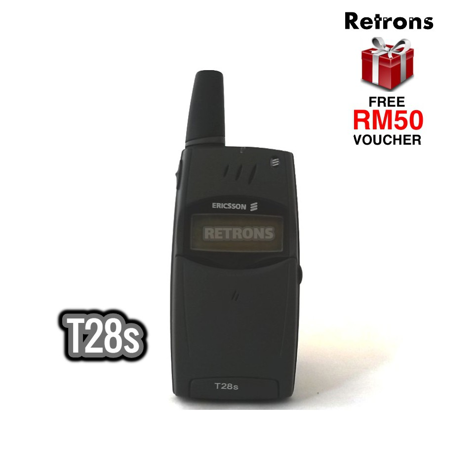 Original Ericsson T28s @ T28 | T29 | T39 Ultra-Rare 1999 Year Model Classic Phone [1 Month Warranty] FREE RM50 Voucher