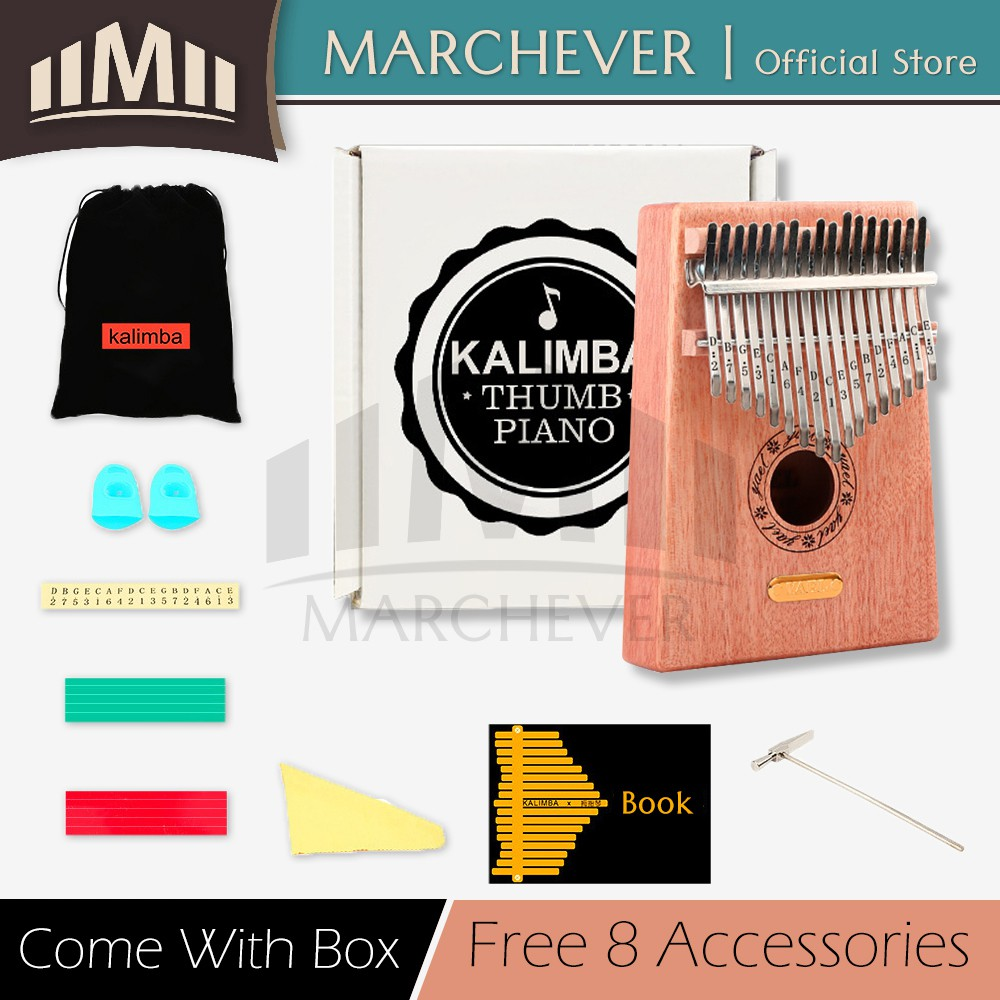 Songs For 8 Note Kalimba Potterton Programmer Ep2002 Wiring Diagram Array Thumb Piano Acoustic Finger Music Instrument Mahogany Rh Shopee