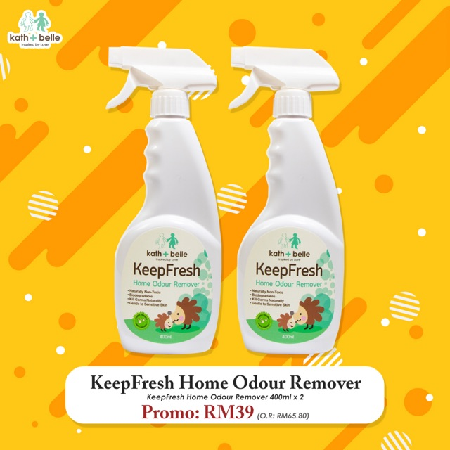 Kath + Belle Keep Fresh Home Odour Remover